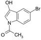 1-ACETYL-5-BROMOINDOL-3-OL (1Ac5BrI)